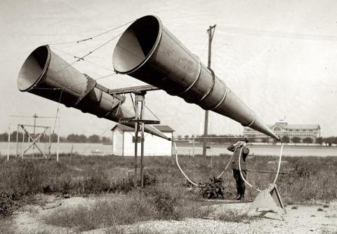 Американская акустическая система предупреждения авианалетов, 1921 год